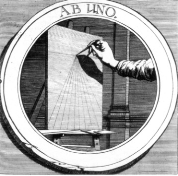 Philotheus, Ab Uno, in Symbola Christiana, Francoforte, 1677.