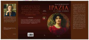 La copertina con bandelle del libro di Silvia Ronchey, Ipazia. La vera storia, Rizzoli, Milano, 2010.