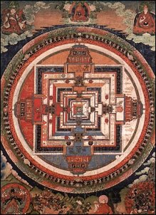 Kalachakra-Mandala, Tibet XVIII sec.