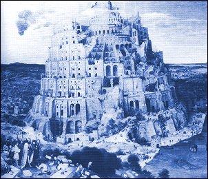 La grande Torre di Babele, Pieter Bruegel, 1563