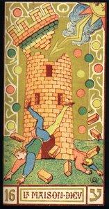 La Torre nei Tarocchi di Wirth