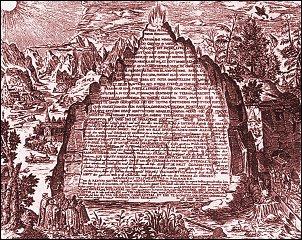 "La Tavola Smeraldina in ""Amphitheatrum sapientiæ æternæ"" di Heinrich Khunrath, Hannover, 1606"