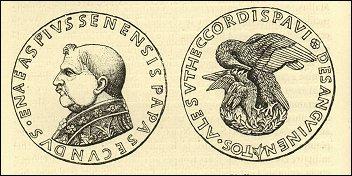 Medaglia del Papa Pio II