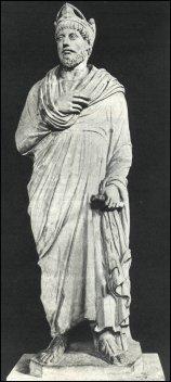 Statua dell'imperatore Giuliano, Museo di Cluny, Parigi
