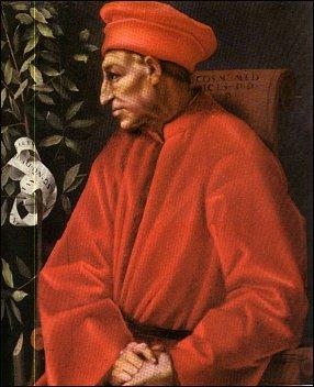 Pontormo, Cosimo de' Medici, Galleria degli Uffizi, Firenze
