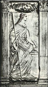 L'Arte Edificatoria, Capella delle Arti Liberali, Tempio Malatestiano, Rimini, fot. Arti Grafiche di Bergamo del 1924 circa